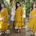 Hardika Shetty Mustard Salwar