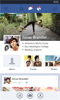 New Facebook App for your Windows Phone 7 machines (WP8, also updated beta)