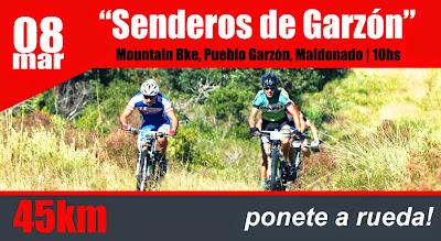 MTB - Senderos de Garzón (Garzón, Maldonado, 08/mar/2015)