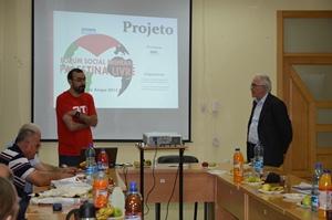 CUT e FEPAL apresentam projeto do Fórum Social Palestina Livre