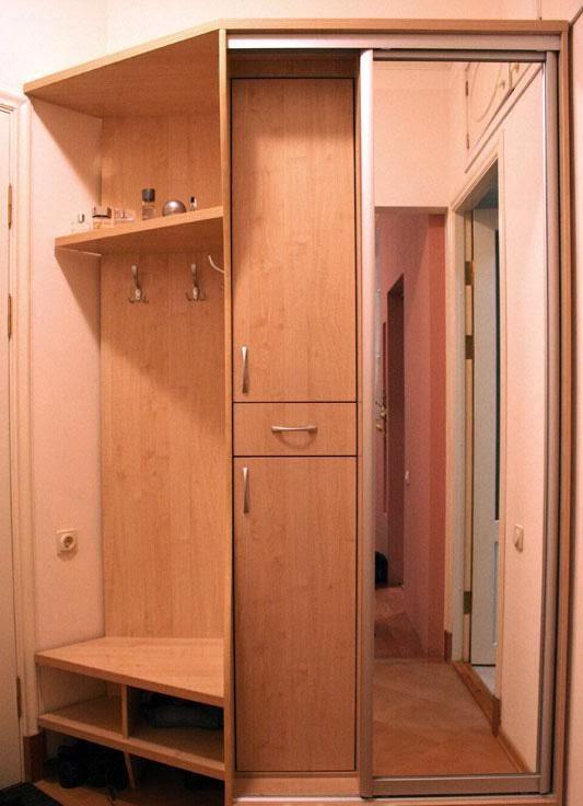 Мебель для прихожей в домашних условиях с фото 79