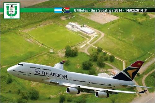 Universitario de Salta de gira por Sudáfrica