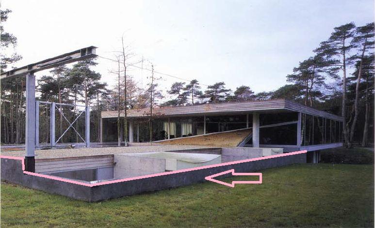esta estructura est cubierta por diversos materiales