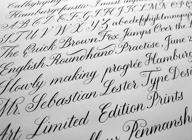 English Handwriting Practice