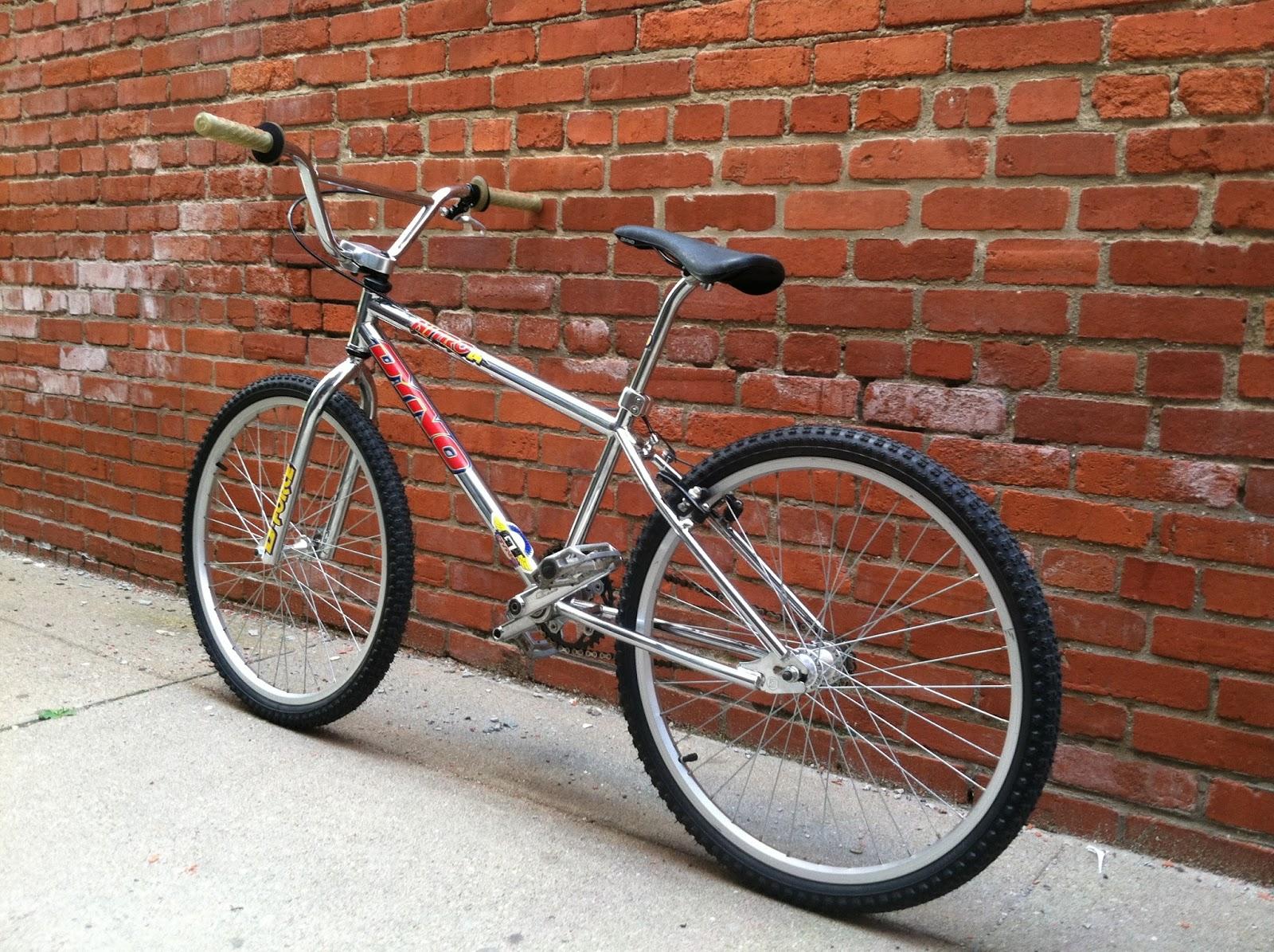 1996 Dyno Nitro 24 Inch Cruiser (Chrome) | Whistle | Bike | Collective