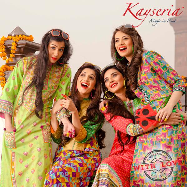 Kayseria Marwa Hocane, Alyzeh Gabol, Sadia khan and Fayeza Ansari
