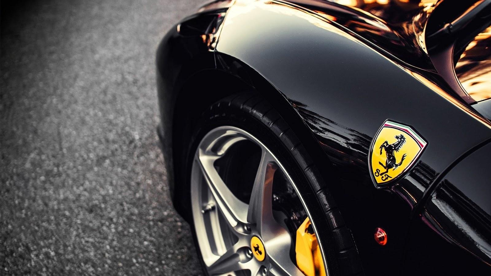 Part of Black Ferrari