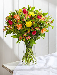 Rose & Alstroemeria Bouquet flowers with price