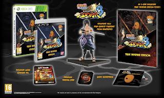 naruto shippuden ultimate ninja storm 3 true despair edition Europe   Naruto Shippuden: Ultimate Ninja Storm 3   Collectors Editions