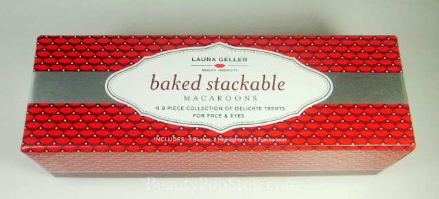qvc laura geller baked stackable macaroons collection review