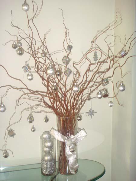 decoracao arvore de natal dicas : decoracao arvore de natal dicas:Criarte Dicas: Árvore de Natal de galhos secos