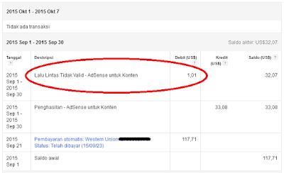 cara mengatasi lalu lintas tidak valid di penghasilan google adsense