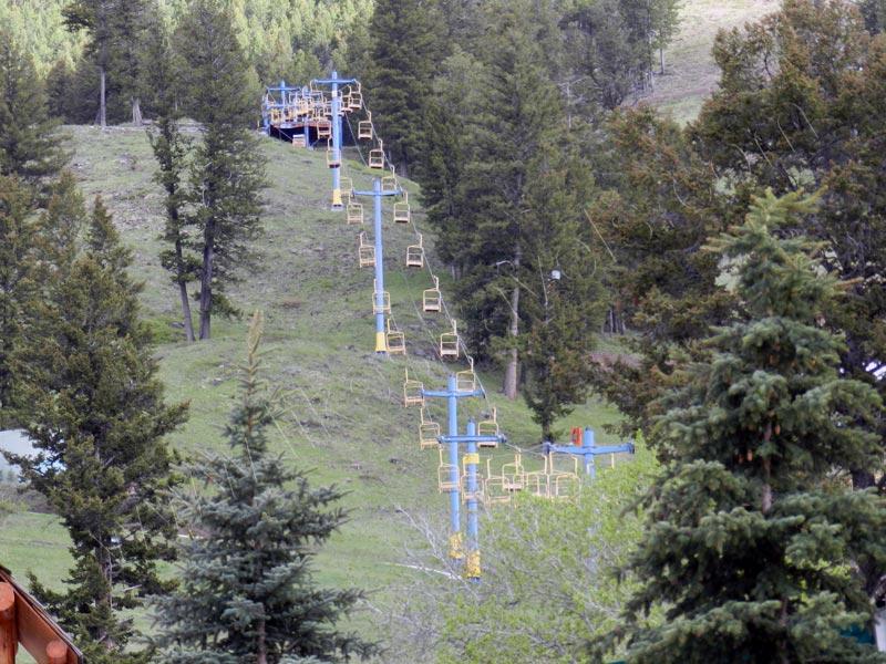Snow King Resort - chairlift