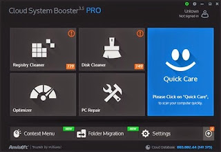 Anvisoft Cloud System Booster PRO 3.5 Full + Reg Key