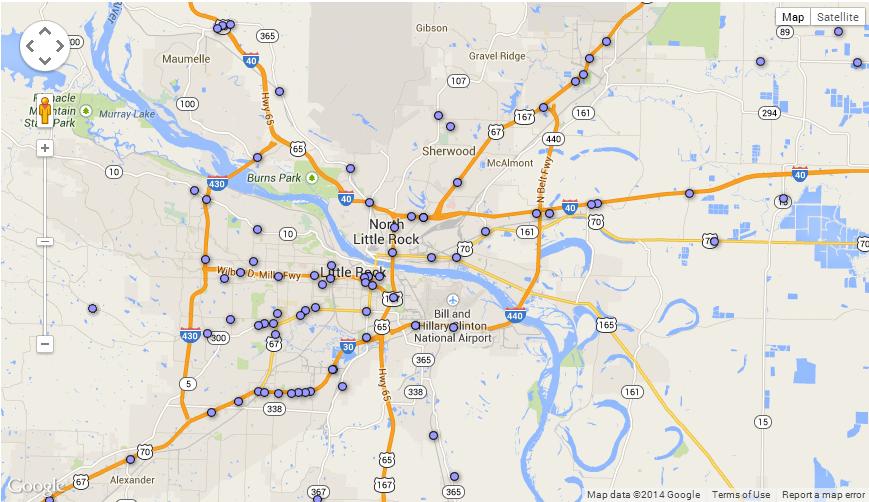 Arkansas\' Roads: Dangerous By Design. We Can Do Better. | Trails of ...