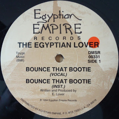 Egyptian Lover ‎– Bounce That Bootie (1994, VLS, 256)