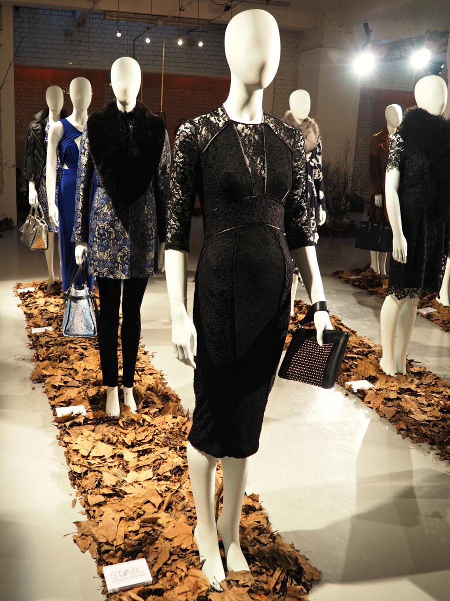 Debenhams Autumn/Winter 2015 Press Day navy & black outfits