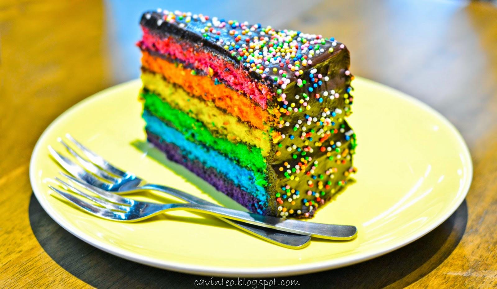 Радужный пирог рецепт