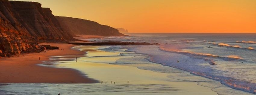 Photo de couverture facebook portugal plage