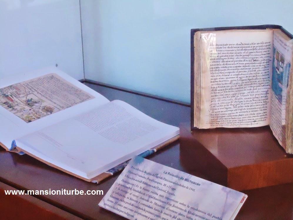 La Relación de Michoacán en la Exposición códices y lienzos de Michoacán