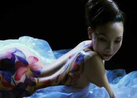 Ảnh gái đẹp sexy với body painting Phần 2 12