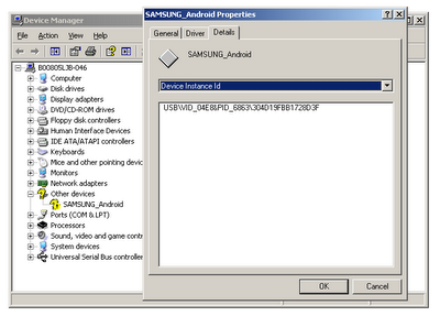 fichier usb inf windows xp
