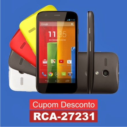 Smartphone Moto G Color Edition Dual Chip XT1033 16GB