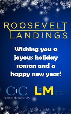 Roosevelt Landing Wishing You Joyous Holiday Season
