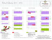 new School Calendar 2011-2012