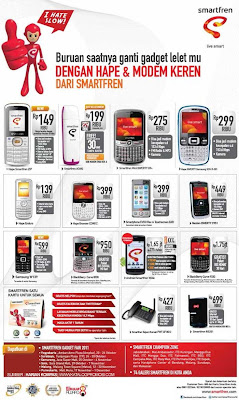 Promo Ponsel Smartfren Gadget Fair 2011