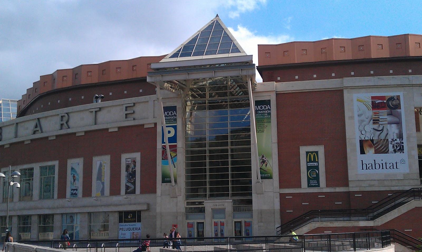 Edificios de bilbao centro comercial zubiarte fast food - Clinica guimon bilbao ...