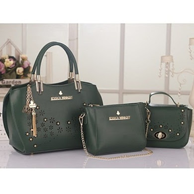 JESSICA MINKOFF (3 IN 1 SET) - ARMY GREEN