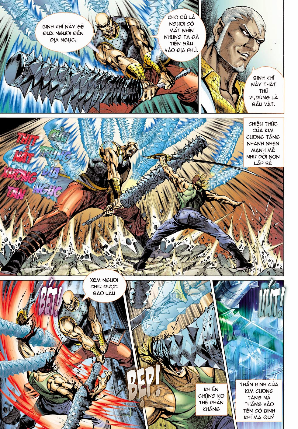 Thần Binh 4 chap 25 - Trang 15