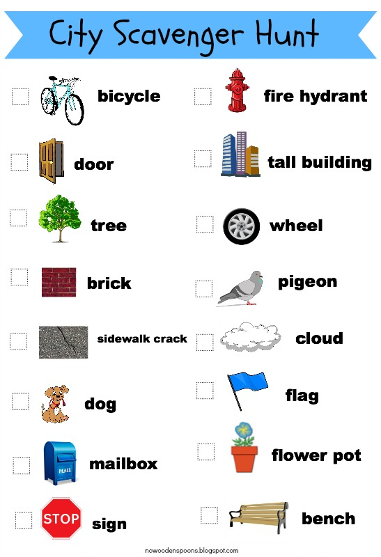 No wooden spoons photo scavenger hunt for kids free printables print the city scavenger hunt maxwellsz