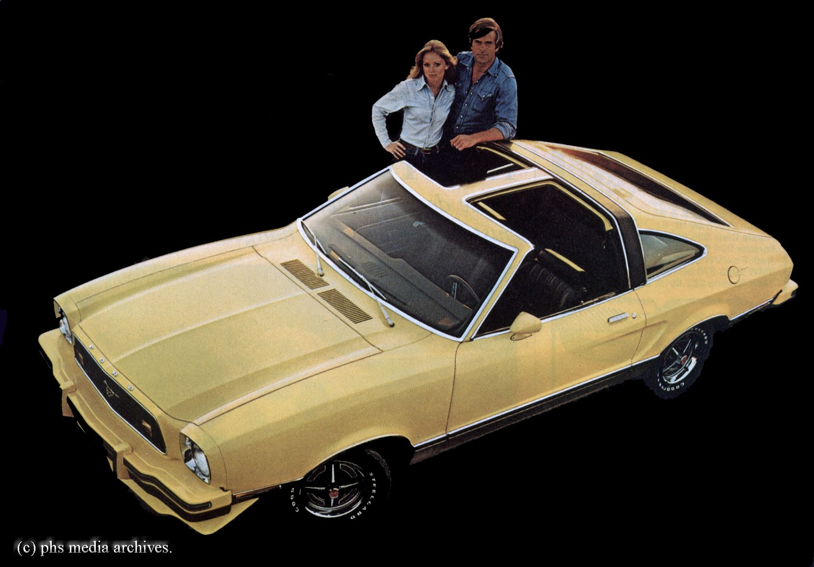 All Types mustang 2 pictures : Mustang II T-Roof Convertibles   phscollectorcarworld