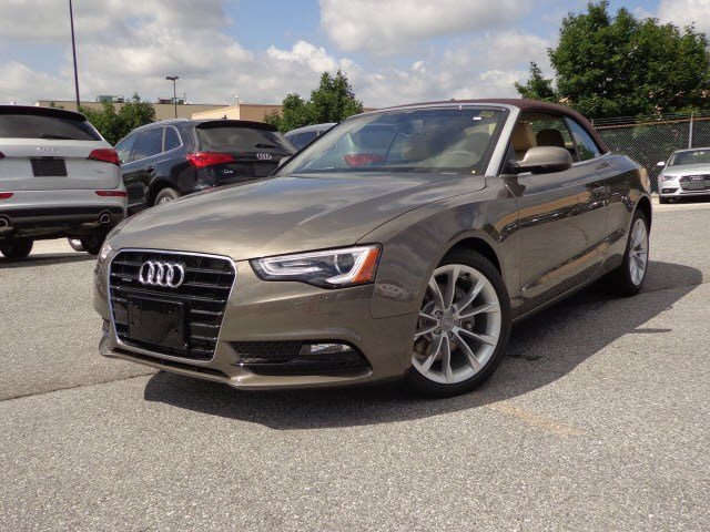 carspyphoto 2014 audi a5 convertible dakota gray brown roof. Cars Review. Best American Auto & Cars Review