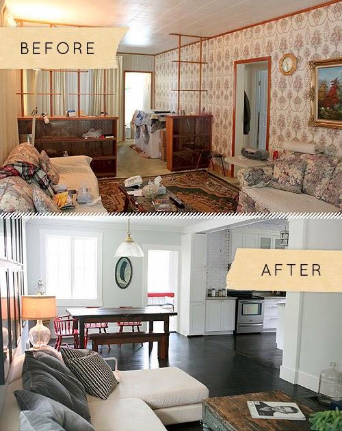 Antes y despu s el cambio de una casa antigua a otra for Small dirty room 7 letters