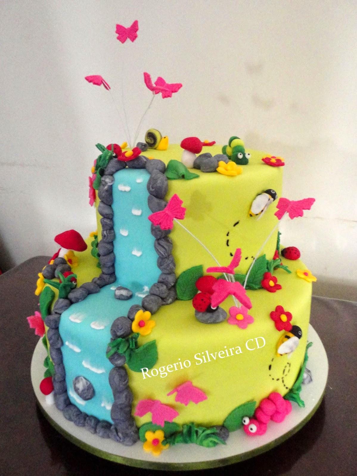 Rogerio Cake Designer Bolo Jardim Encantado