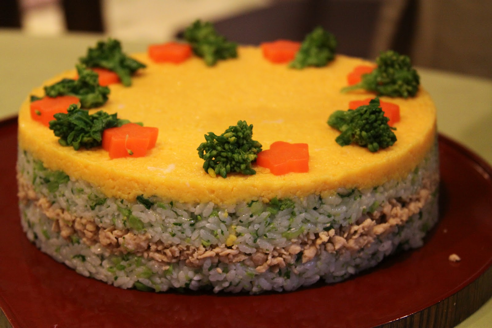 Aki Nansai's recipe for Sushi Cake perfect for Hinamatsuri Dolls Day ...