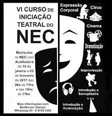 VI CURSO DE INICIAÇÃO TEATRAL DO NEC