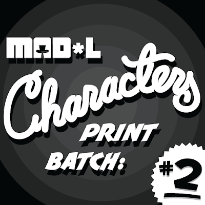 Madl Characters Print Series Batch 2 by MAD