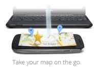Ricerca mappe da pc su Android