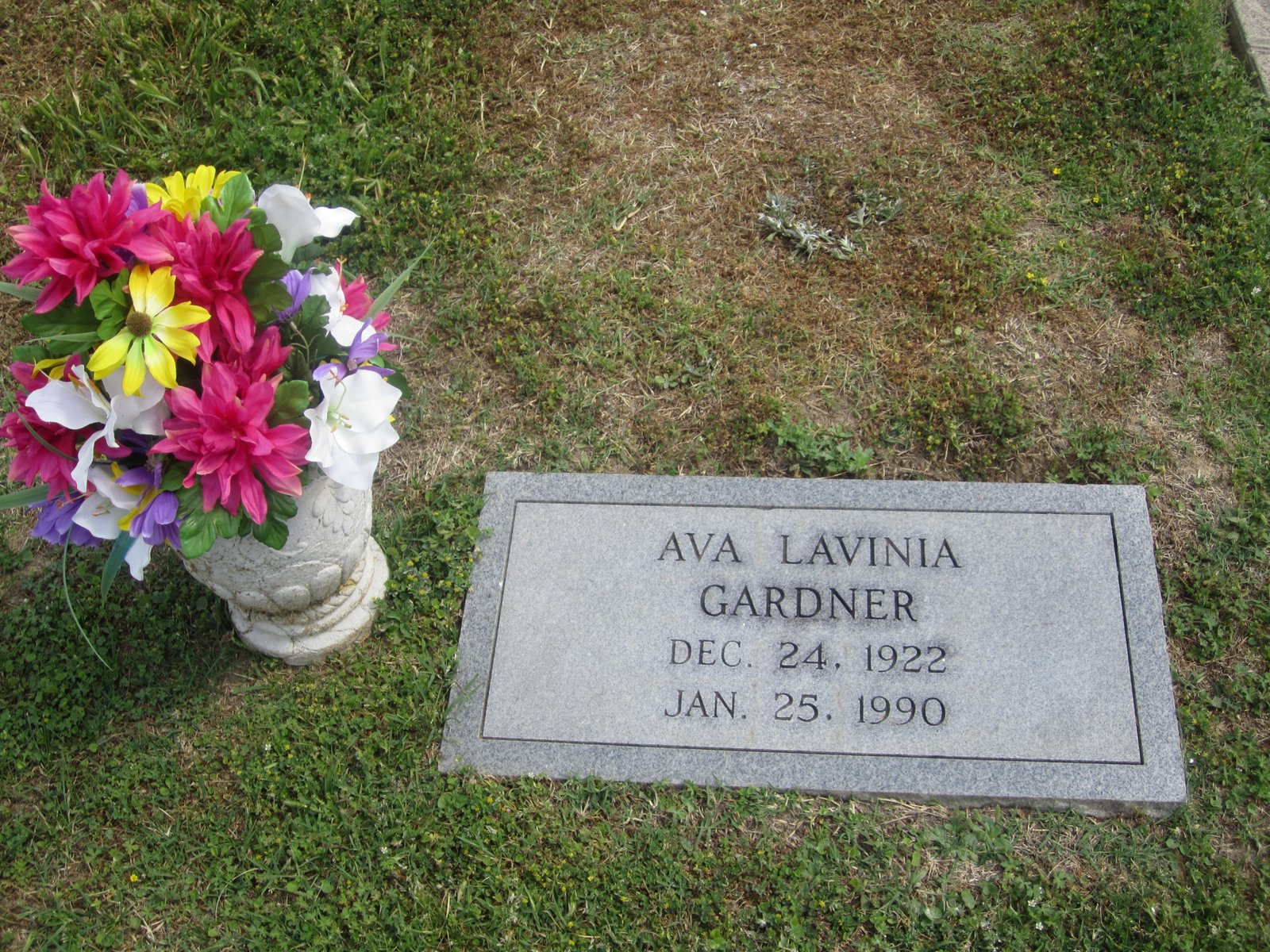 Ava Gardners Middle Name Lavinia Was The Same As My Mothers Oldest Sisters I Wonder If Mother Knew That Or Aunt Billie We Called Her