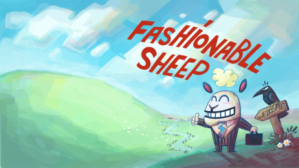 Fashionable Sheep