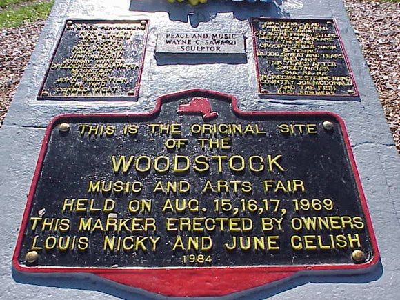 Placa Woodstock69