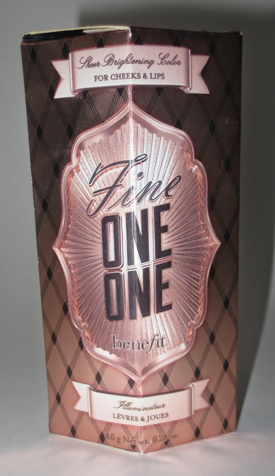 Benefit Fine One One Packaging