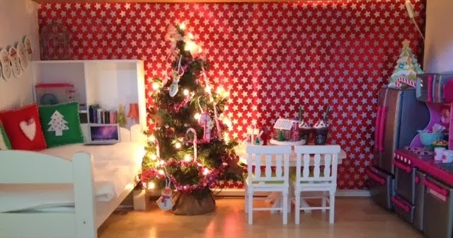 Pretty Lilly An American Girl Pretty Lilly 39 S Christmas Room