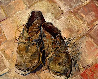 لوحة الحذاء لفان جوخ