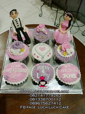 Cupcake Engagement Daerah Surabaya - Sidoarjo