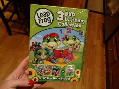 LeapFrog Huge DVD bundle Giveaway and Review!  2 winners!